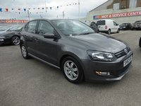 2010 VOLKSWAGEN POLO 1.2 BLUEMOTION TDI 5d 74 BHP £6795.00