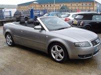 2005 AUDI A4 1.8 T QUATTRO SPORT 2d 161 BHP £4495.00