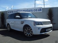 2012 LAND ROVER RANGE ROVER SPORT 5.0 V8 AUTOBIOGRAPHY SPORT 5d AUTO 510 BHP £37999.00