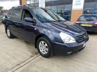 2008 KIA SEDONA 2.9 LS 5d 183 BHP £3995.00