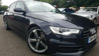 2014 AUDI A6 3.0 TDI S LINE BLACK EDITION 4d AUTO 204 BHP £23990.00