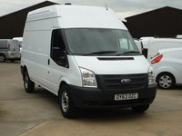 2013 FORD TRANSIT 2.2 350 Long Wheel Base High Roof 124 BHP £9995.00