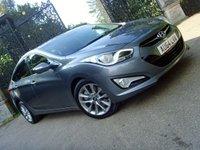 2014 HYUNDAI I40 1.7 CRDI STYLE 4d AUTO 134 BHP £12499.00