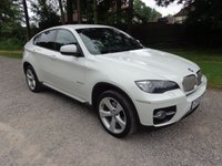 2009 BMW X6 3.0 XDRIVE35D 4d AUTO 282 BHP ALPINE WHITE,BLACK LEATHER. £20950.00