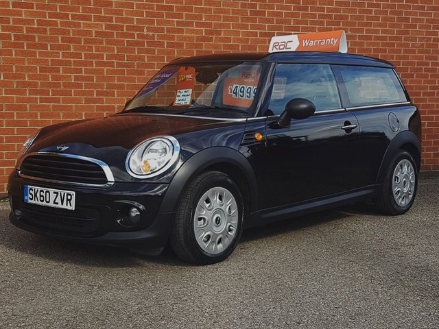 2010 60 MINI CLUBMAN 1.6 ONE 5 Door FREE RAC WARRANTY