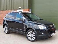 2013 VAUXHALL ANTARA 2.2 EXCLUSIV CDTI 4WD S/S 5d 161 BHP £9000.00