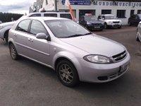 2008 CHEVROLET LACETTI 1.6 SX 5d 108 BHP £1590.00