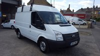 2012 FORD TRANSIT 100T 300 2.2TDCi SWB MEDIUM ROOF VAN £7350.00