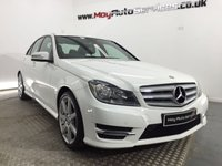 2013 MERCEDES-BENZ C CLASS 2.1 C220 CDI BLUEEFFICIENCY AMG SPORT 4d AUTO 168 BHP £16995.00