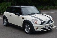2009 MINI HATCH COOPER 1.6 COOPER D 3d HATCHBACK 108 BHP DIESEL CAR £3990.00