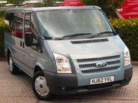 2012 FORD TRANSIT 2.2 280 TREND TOURNEO LR 9 STR 5d 124 BHP £13990.00