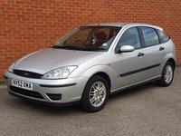 2003 FORD FOCUS 1.6 LX 5 Door      £695.00