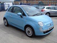 2011 FIAT 500 1.2 LOUNGE 3d 69 BHP £4950.00