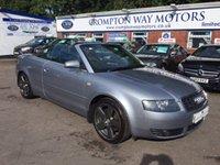 2005 AUDI A4 1.8 T QUATTRO S LINE 2d 161 BHP £3495.00
