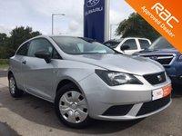 2015 SEAT IBIZA 1.2 S A/C 3d 69 BHP £6495.00