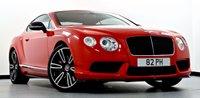 2012 BENTLEY CONTINENTAL GT 4.0 V8 GT 2dr Auto £85995.00