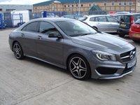 2013 MERCEDES-BENZ CLA 2.1 CLA220 CDI AMG SPORT 4d AUTO 170 BHP £22995.00