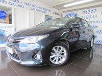 2013 TOYOTA AURIS 1.6 ICON VALVEMATIC 5d AUTO 130 BHP £8295.00