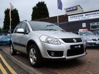 USED 2008 08 SUZUKI SX4 1.6 GLX 4GRIP 5d  FULL HISTORY ~ AIR CON ~ 4X4 ~ ALLOY WHEELS ~ KEYLESS ENTRY AND START