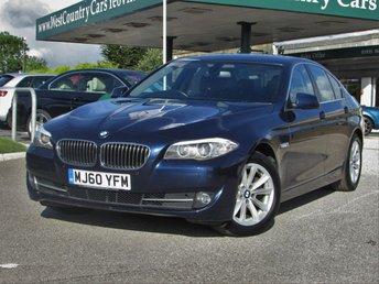 2010 BMW 5 SERIES 2.0 520D SE 4d 181 BHP £11000.00
