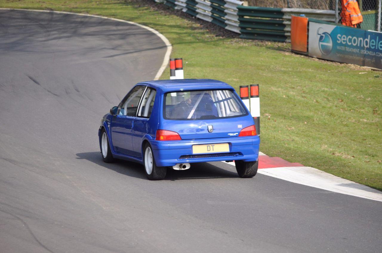 Peugeot 106 Rallye 1.6 16v Track Race Car & Trailer