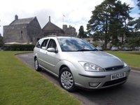2002 FORD FOCUS 1.8 GHIA 5d 113 BHP £1695.00