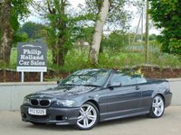 USED 2005 BMW 3 SERIES 2.0 318CI SPORT 2d 141 BHP CONVERTIBLE CONVERTIBLE / IMMACULATE