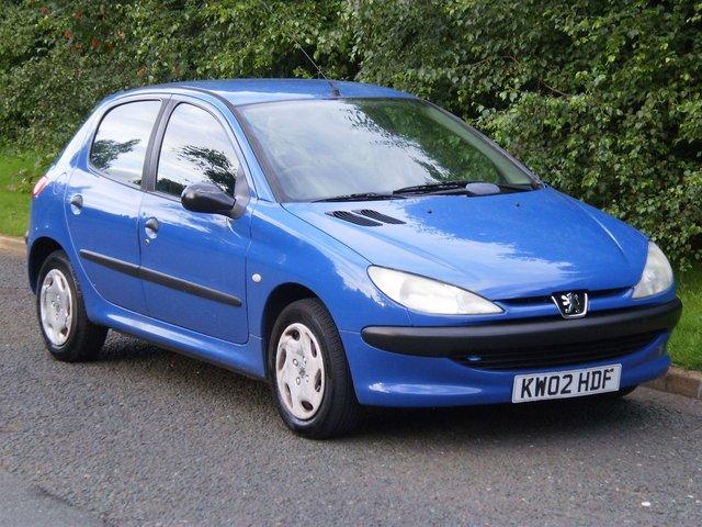 2002 02 PEUGEOT 206 1.1 STYLE 5d 60 BHP