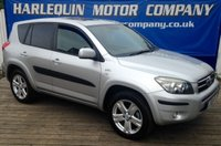 2006 TOYOTA RAV4 2.2 D-4D T180 5dr LEATHER REAR PDC £3999.00
