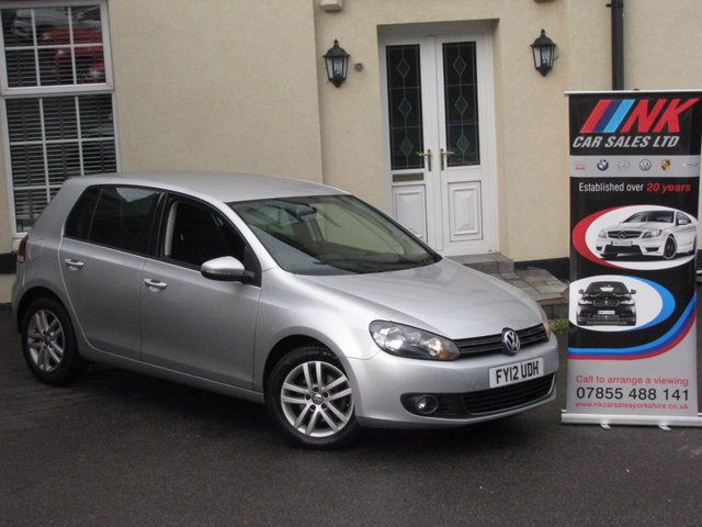 2012 12 VOLKSWAGEN GOLF 2.0 GT TDI BLUEMOTION TECHNEATED LEATHER SOLD TO TABARAK FROM LEEDS