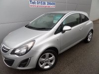 2013 VAUXHALL CORSA 1.2 SXI AC 3d 83 BHP LOVELY CLEAN CONDITION ONLY 14000 MILES £5695.00