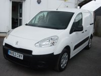2013 PEUGEOT PARTNER 1.6 HDI S L1 850 1d 89 BHP ONLY 46000 MILES £5495.00