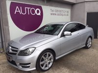 2012 MERCEDES-BENZ C 220 250Cdi Blueefficiency AMG Sport Co Auto £13995.00