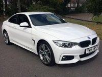 2014 BMW 4 SERIES 2.0 420D XDRIVE M SPORT 2d 181 BHP £23950.00
