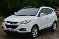 2013 HYUNDAI IX35 2.0 PREMIUM CRDI 4WD 5d 134 BHP £14495.00