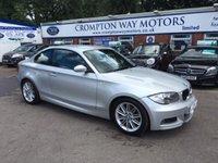 2008 BMW 1 SERIES 2.0 120D M SPORT 2d 175 BHP £7895.00