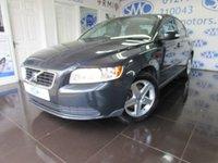 2008 VOLVO S40 1.6 S 4d 100 BHP £3695.00