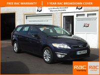 USED 2013 13 FORD MONDEO 2.0 ZETEC TDCI 5d 138 BHP ESTATE 1 Owner ,Bluetooth ,4 Service Stamps