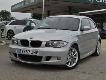 2007 BMW 1 SERIES 2.0 118I M SPORT 3d 141 BHP £6500.00