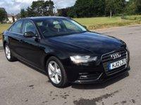 2012 AUDI A4 1.8 TFSI SE S/S 4d AUTO 168 BHP £12950.00