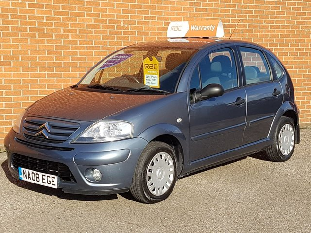 2008 08 CITROEN C3 1.4 RHYTHM 5 Door  AIR CON