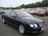 2005 BENTLEY CONTINENTAL FLYING SPUR 6.0 FLYING SPUR 5 SEATS 4d AUTO 550 BHP £33750.00