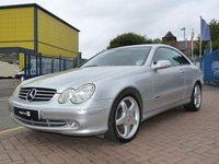 2002 MERCEDES-BENZ CLK 2.6 CLK240 AVANTGARDE 2d AUTO 170 BHP £3995.00