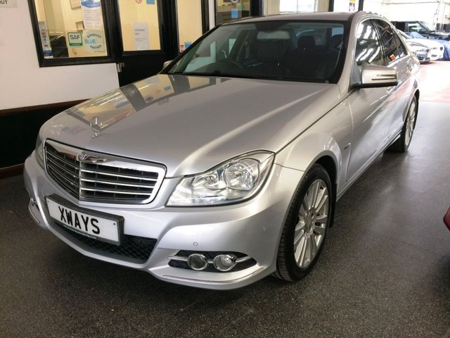 USED 2012 61 MERCEDES-BENZ C CLASS 2.1 C220 CDI BlueEFFICIENCY Elegance 7G-Tronic 4dr Last serviced at 67455 miles, Supplied with 2 keys, serviced by Mercedes @ 7405/20859/36195/47464 miles and then independently since with receipts. Finished in Metallic Paint with Leather Heated Front Seats, Automatic Climate Control, Becker Map Pilot capable, Linguatronic Voice Control for Navigation, Parktronic - Front and Rear, with Advanced Parking Guidance, 17in 9 - Twin - Spoke Alloy Wheels, Alarm System, Audio 20 Radio with Single CD Drive (MP3 Compatible) + More.