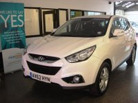 USED 2012 62 HYUNDAI IX35 1.6 GDi 16v Style SUV 2WD 5dr Low Mileage Petrol powered SUV, includes a service, 2 tyres, new brake pads, 6 months RAC warranty and 12 months roadside assist.
