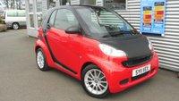 2011 SMART FORTWO 0.8 PASSION CDI 2d AUTO 54 BHP £4480.00