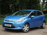 2011 FORD FIESTA 1.2 EDGE 5d 81 BHP £5495.00