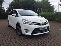 2013 TOYOTA VERSO 2.0 ICON D-4D 5d 122 BHP 7 Seat £11350.00