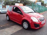 2009 CITROEN C2 1.1 VT 3d 60 BHP £2290.00