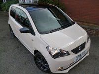 2014 SEAT MII 1.0 MII BY MANGO 3d 74 BHP Super High Spec, Glass Pan Roof £6089.00